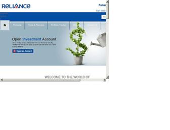 Thumbshot of Reliancemoney.com