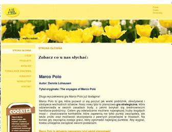 Main page screenshot of albipolska.pl