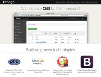 Thumbshot of Croogo.org