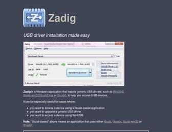 zadig.akeo.ie screenshot