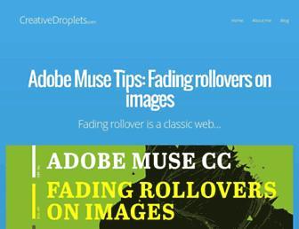 creativedroplets.com screenshot