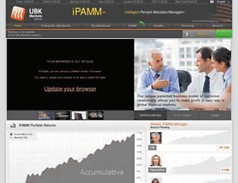 Thumbshot of Ubkmarkets.com