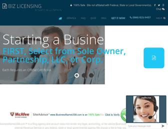Thumbshot of Businessnameusa.com