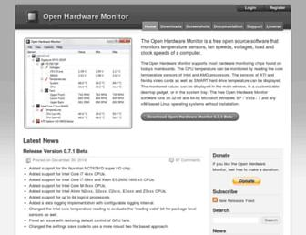 openhardwaremonitor.org screenshot