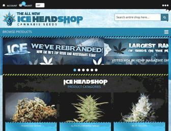iceheadshop.co.uk screenshot