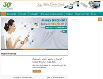 3gviettel.vn screenshot