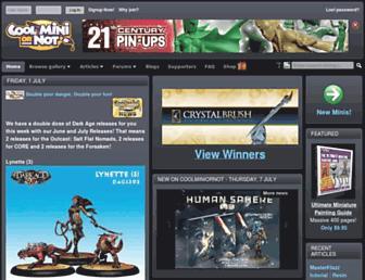 Thumbshot of Coolminiornot.com