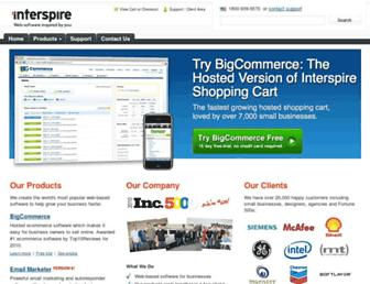 Thumbshot of Interspire.com