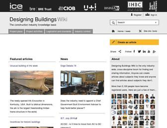 designingbuildings.co.uk screenshot