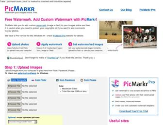 Thumbshot of Picmarkr.com