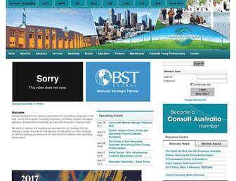 consultaustralia.com.au screenshot