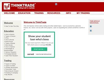 thinktrade.net screenshot