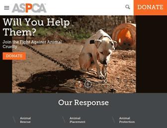 Thumbshot of Aspca.org