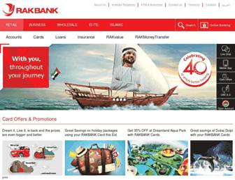 Thumbshot of Rakbank.ae