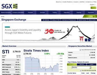 Thumbshot of Sgx.com