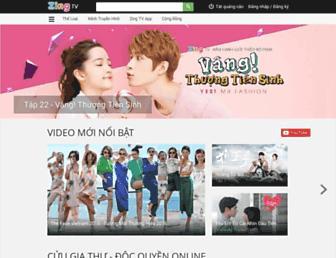 tv.zing.vn screenshot