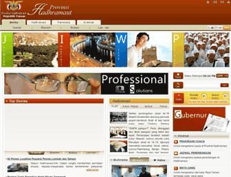 indo.hadhramaut.info screenshot