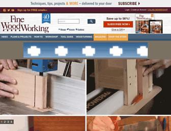 finewoodworking.com screenshot