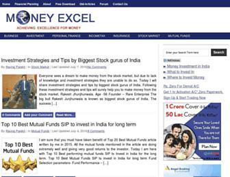 moneyexcel.com screenshot