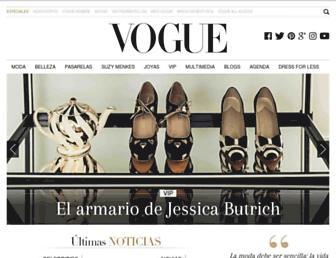 Thumbshot of Vogue.mx