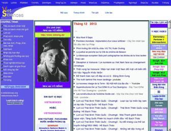 vietsciences2.free.fr screenshot