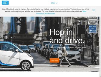 Thumbshot of Car2go.com