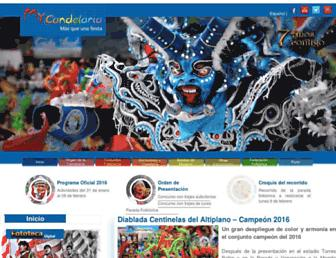 mycandelaria.com screenshot