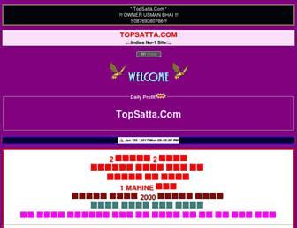 topsatta.com screenshot