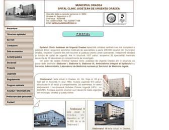 spitaljud.rdsor.ro screenshot