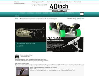 longboardmagazin.de screenshot