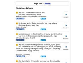 christmaswishes.info screenshot