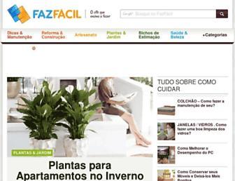 Thumbshot of Fazfacil.com.br