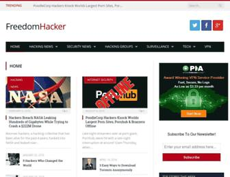 freedomhacker.net screenshot