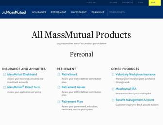 retire.massmutual.com screenshot