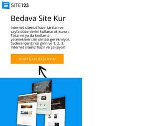 tr.site123.com screenshot