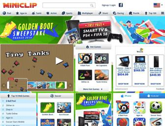 Thumbshot of Miniclip.com