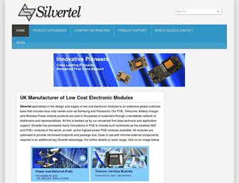 silvertel.com screenshot
