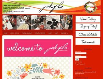 jakflo.com screenshot