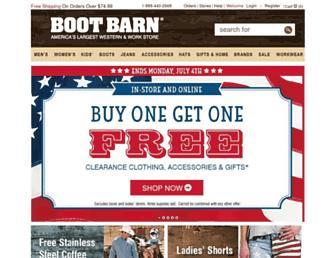 Thumbshot of Bootbarn.com