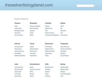 Thumbshot of Freeadvertisingplanet.com