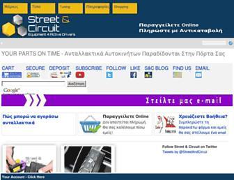 streetandcircuit.gr screenshot