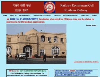 rrcnr.org screenshot