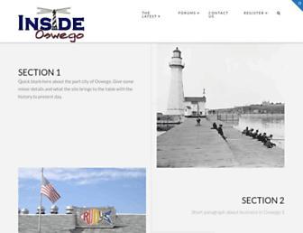 insideoswego.com screenshot