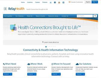 Thumbshot of Relayhealth.com