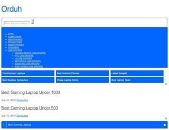 orduh.com screenshot