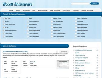 Thumbshot of Novellshareware.com