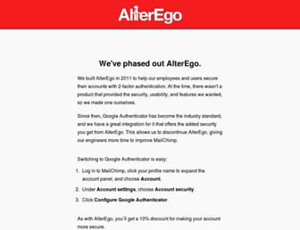Thumbshot of Alteregoapp.com