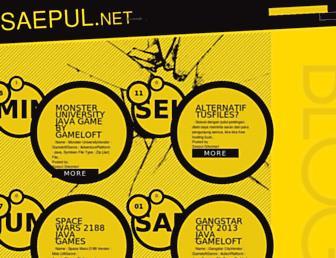 saepul-net.blogspot.com screenshot