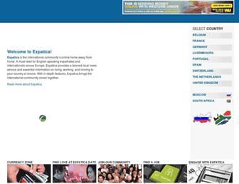 expatica.com screenshot