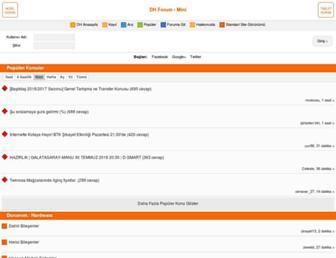 mini.donanimhaber.com screenshot